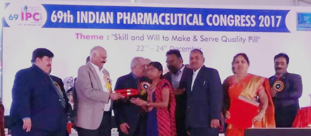 K.K. Acharya Award - All India 2nd Rank in Diploma 2017